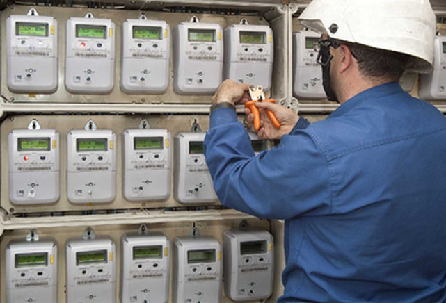 Acceso al cuarto de contadores eléctricos